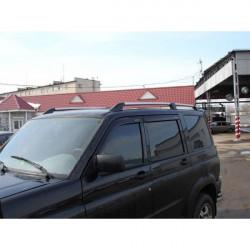 Рейлинги крыши (нерж.сталь) для УАЗ Патриот Спорт