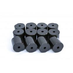 Комплект стальных проставок РИФ для лифта кузова 65 мм УАЗ (12 шт.)